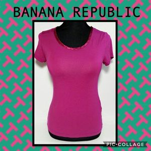 BANANA REPUBLIC Luxe Touch Tee